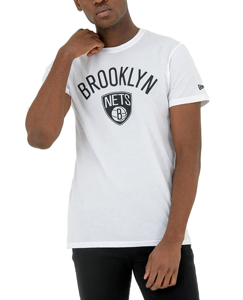 BROOKLYN NETS WHITE TEE