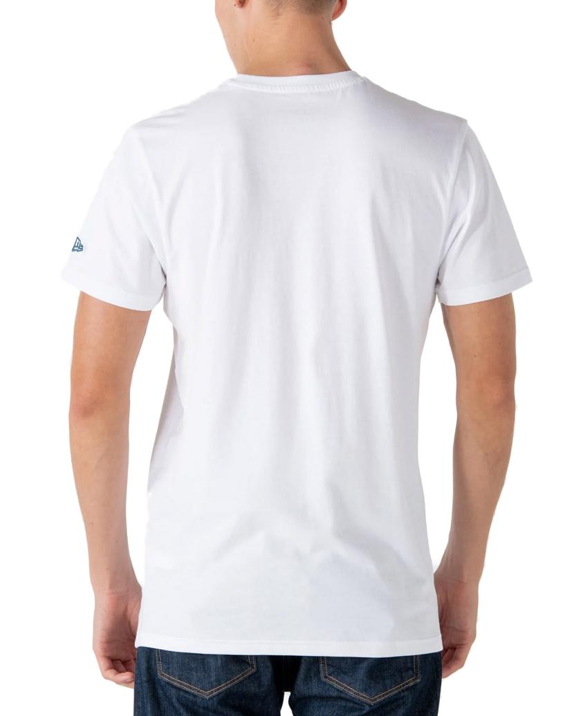 BOSTON RED SOX LOGO INFILL WHITE T-SHIRT