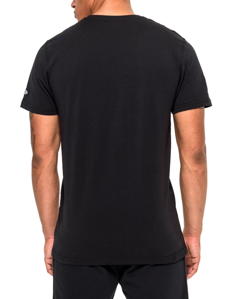 OAKLAND RAIDERS TEAM LOGO BLACK TEE