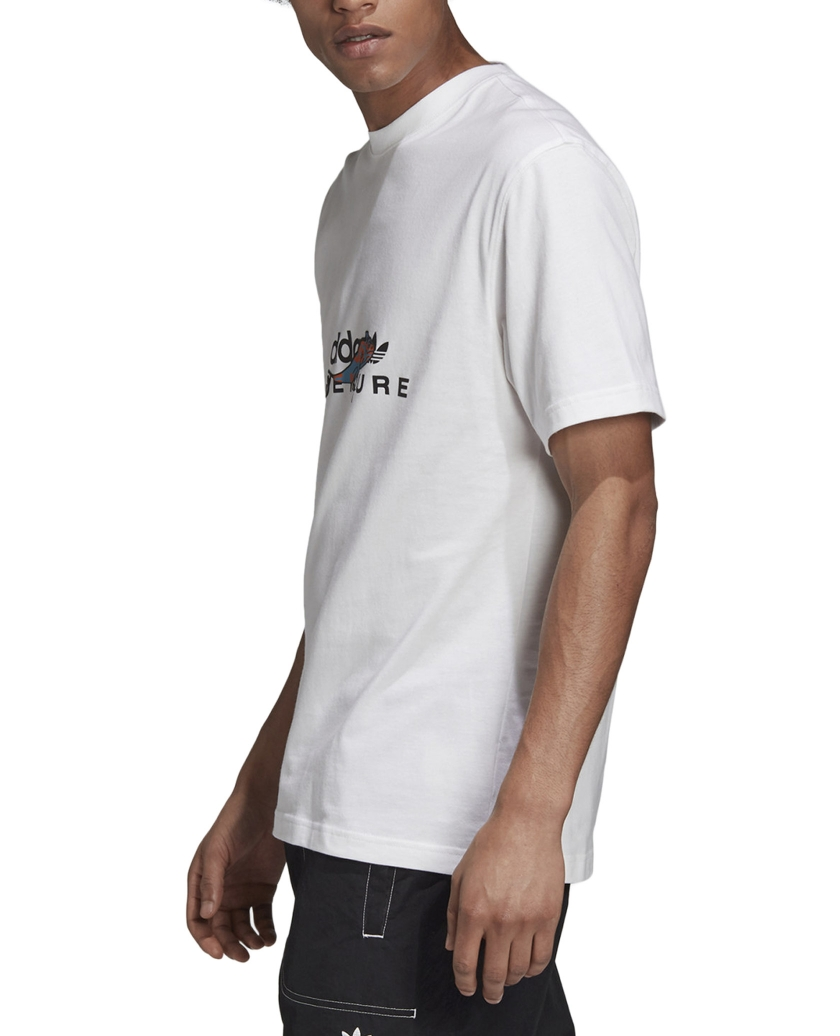 ADVENTURE GRAPHIC T-SHIRT WHITE