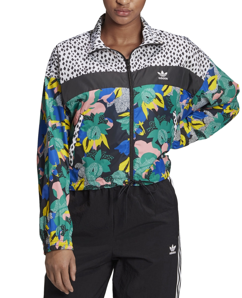 HER STUDIO WINDBREAKER MULTICOLOR
