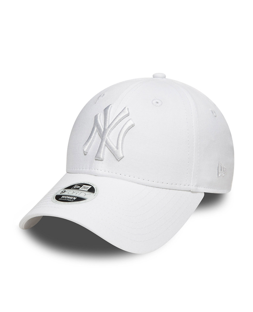 NEW YORK YANKEES ESSENTIAL WHITE ON WHITE WOMENS 9FORTY