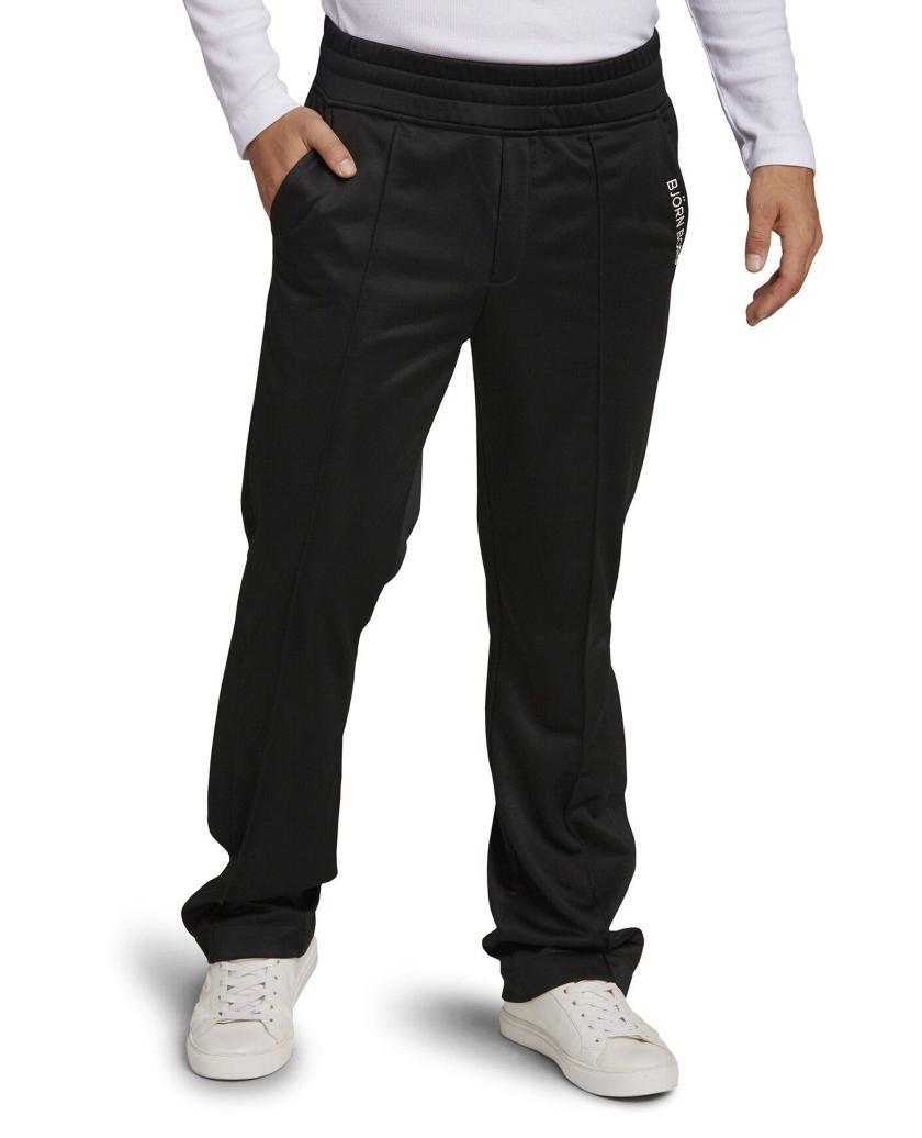 BORG SPORT TRACK PANTS BLACK BEAUTY