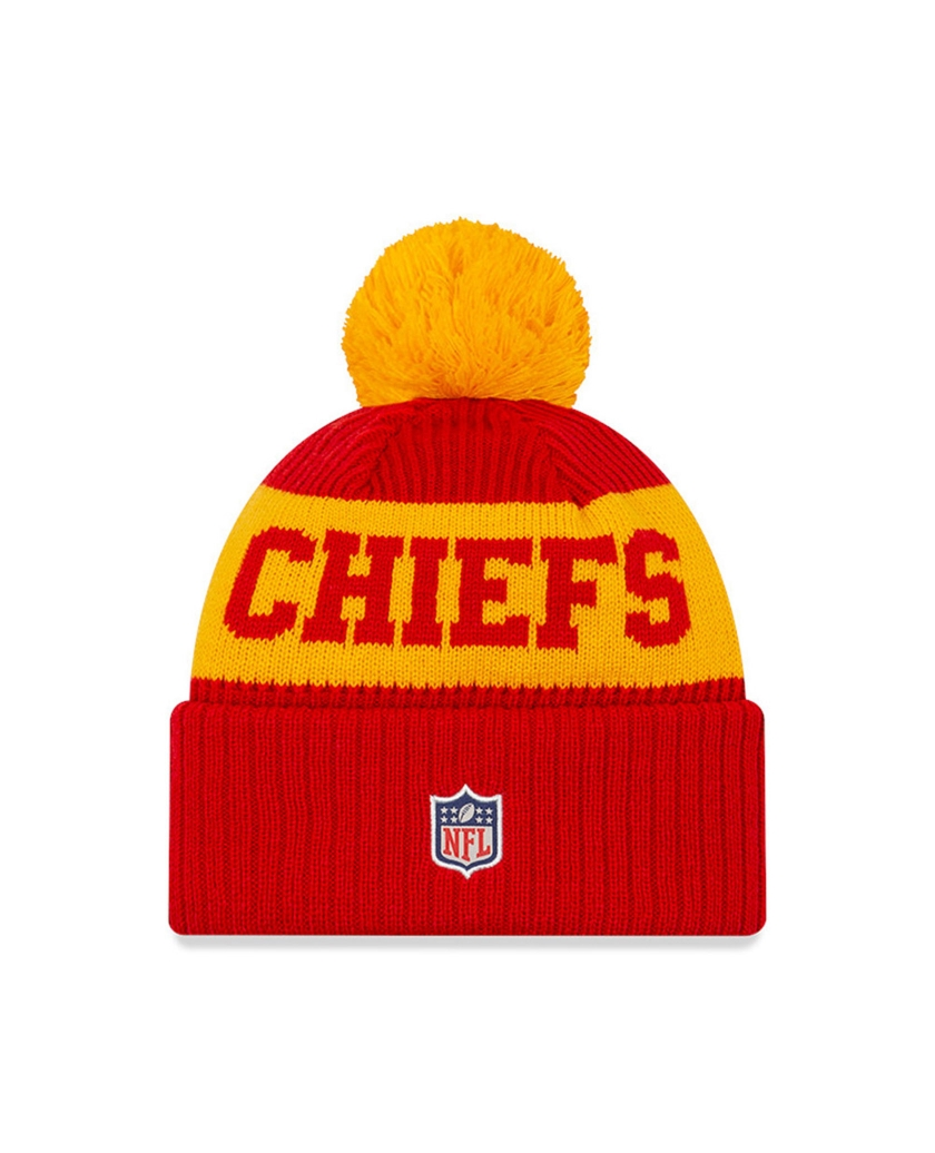 KANSAS CITY CHIEFS ON FIELD RED KNIT