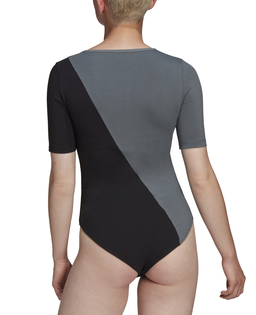 ADICOLOR SLICED TREFOIL BODYSUIT BLUE OXIDE / BLACK