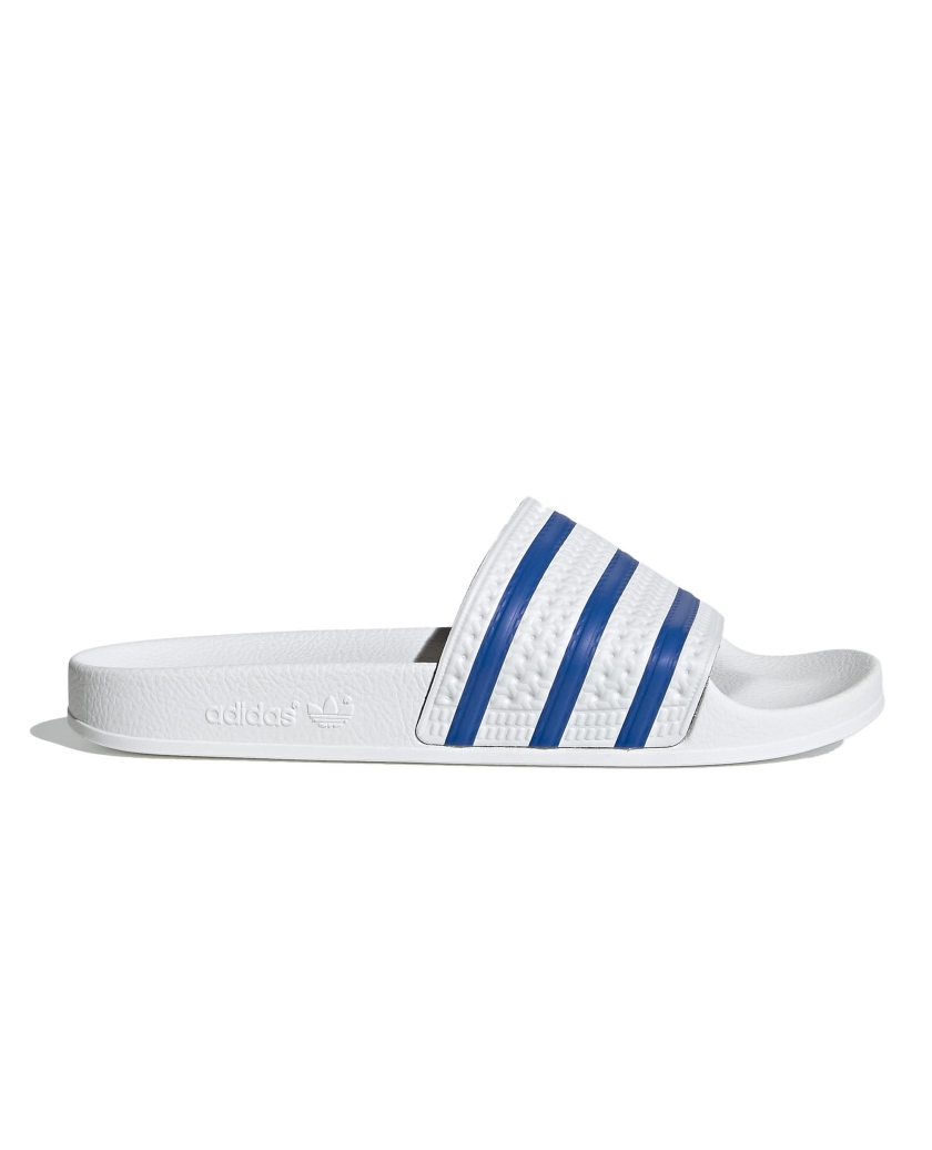 ADILETTE  CLOUD WHITE / GLOW BLUE