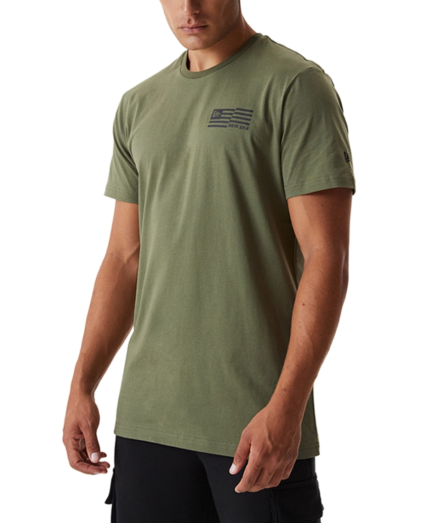 NEW ERA OUTDOOR UTILITY GRAPHIC KHAKI T-SHIRT