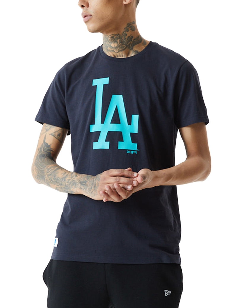 LA DODGERS TEAM LOGO NAVY T-SHIRT