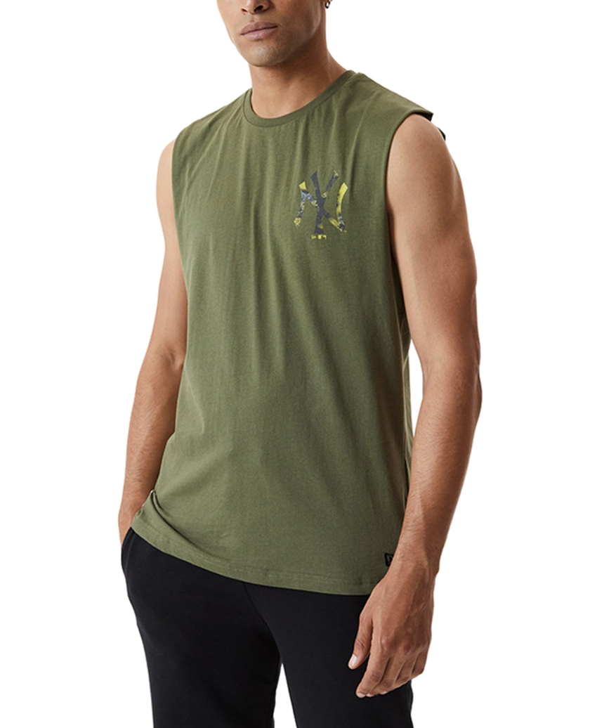 NEW YORK YANKEES CITY CAMO KHAKI TANK TOP