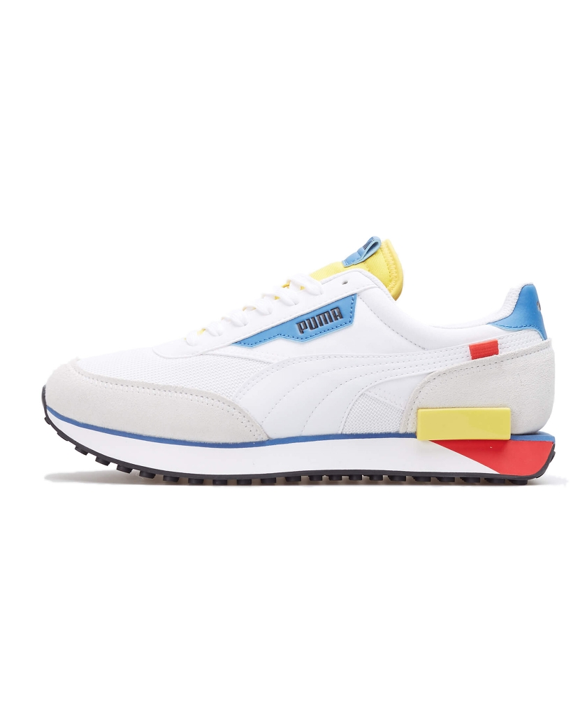 PUMA FUTURE RIDER NEON PLAY WHITE