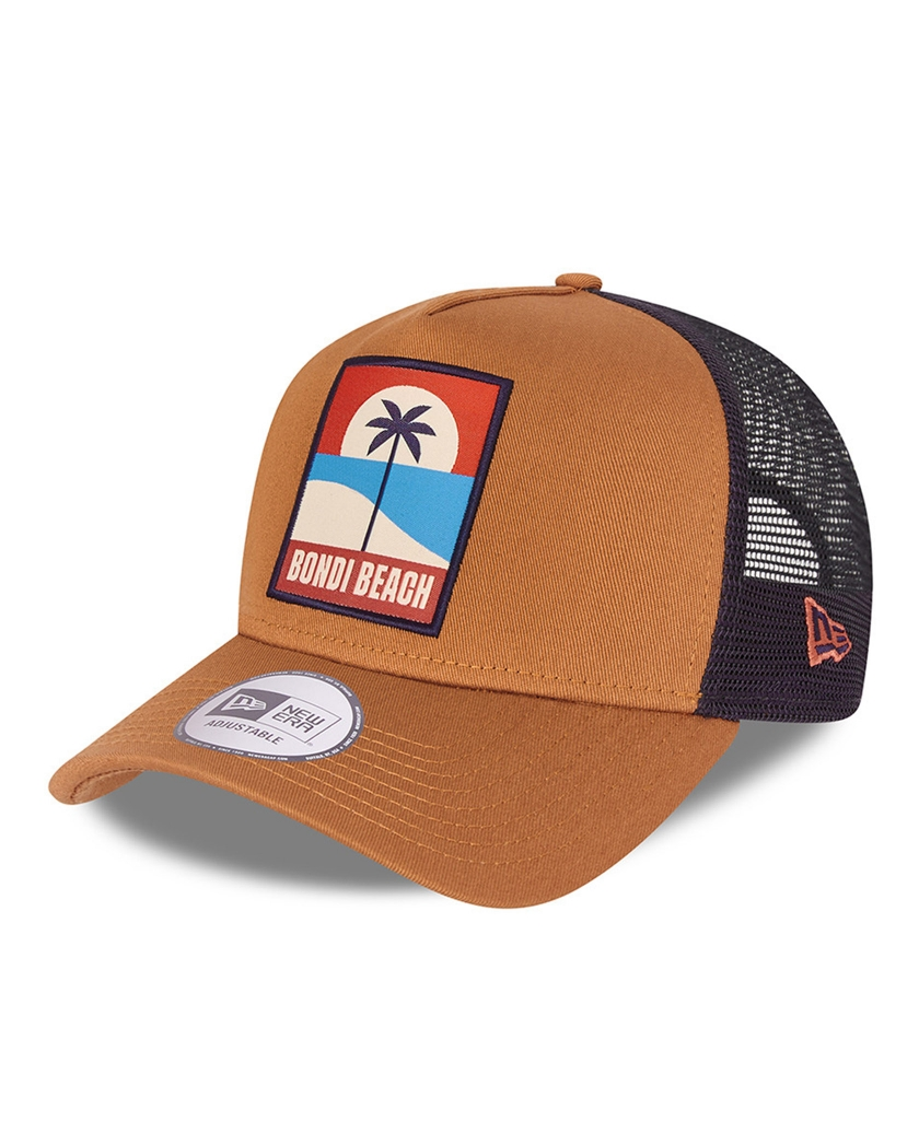 NEW ERA SUMMER PATCH BROWN A-FRAME BONDI BEACH
