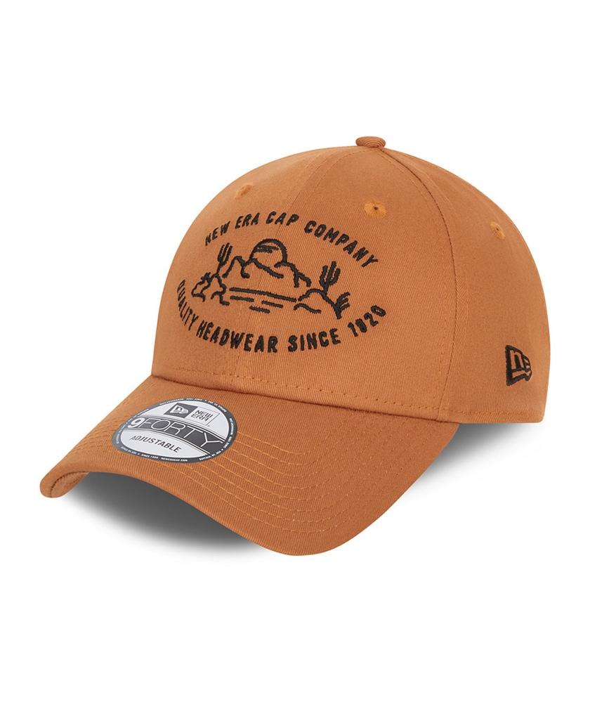 NEW ERA CAMP BROWN 9FORTY CAP