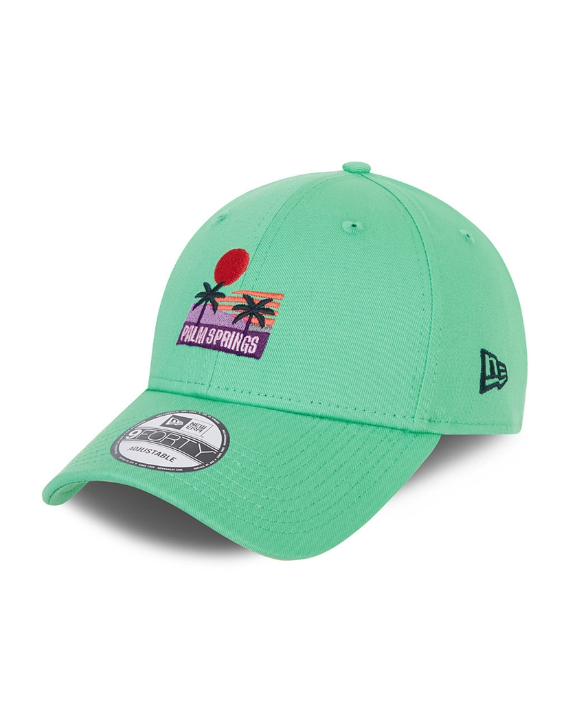 NEW ERA SUMMER TEAL 9FORTY CAP PALM SPRINGS