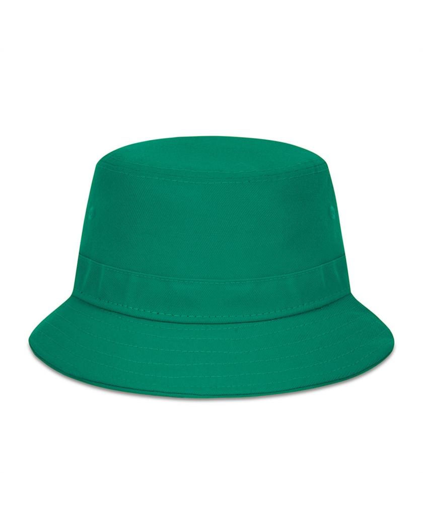 NEW ERA ESSENTIAL GREEN BUCKET HAT