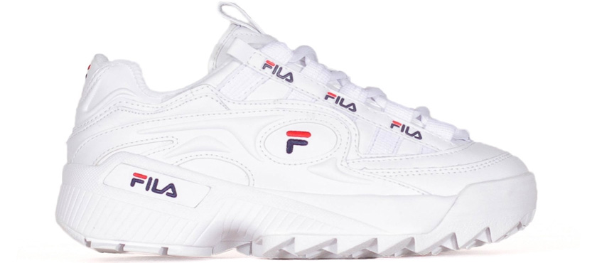 FILA WOMENS D-FORMATION WHITE