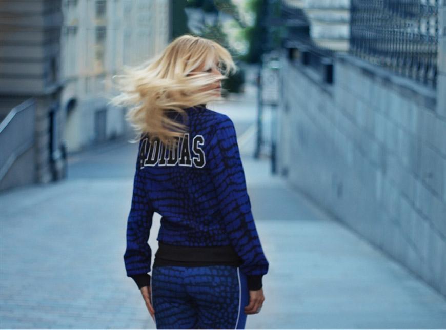 adidas Originals - NEW YORK PRINTED SUPER TRACK TOP