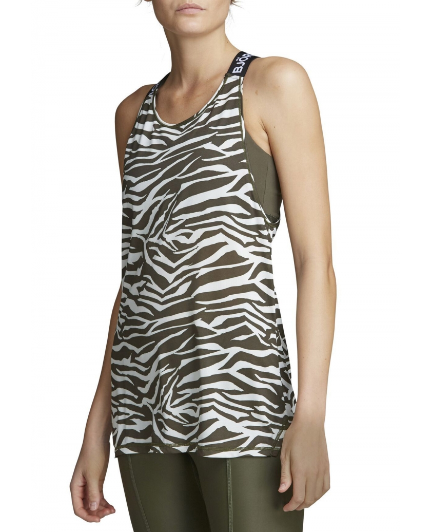 CASSIE LOOSE TOP BB ZEBRA JET STREAM