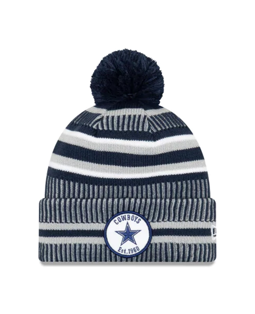 DALLAS COWBOYS OFFICIAL NFL SIDELINE KNIT